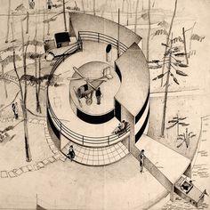 Fremtidens Hus (House of the Future) by Arne Jacobsen