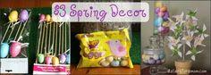 dollar store spring decor ideas