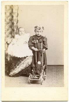 1894 Cabinet Card Photo