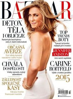 Jennifer Aniston - Harper's Bazaar Magazine Cover [Czech Republic] (March 2015)