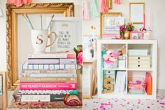Office tour of The Wedding Stylist