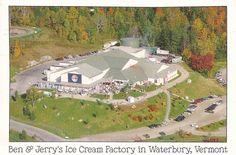 Ben & Jerry's Ice Cream Factory - Waterbury, Vermont