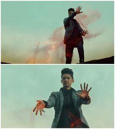 "S2 Ep20 ""Beside Still Water"" - Get it, Magnus. #Shadowhunters"