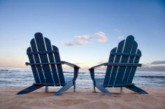 Your chairs await you....@Surfside Brides