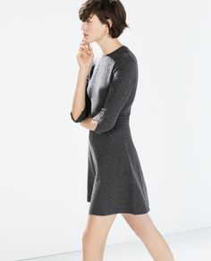 Grey dress via ZARA