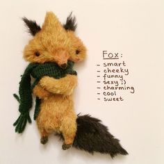 Fox insisted on naming his best qualities in the most humble manner possible - forest_fellows