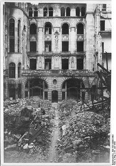 1950 Hotel Adlon Hof,Ruine