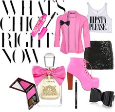 """""""BREAST CANCER PINK"""" by zaza-gabor83 on Polyvore"""