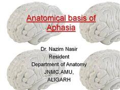 ANATOMICAL BASIS OF APHASIA by sahil979 via authorSTREAM