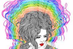The Colorful Fashion Illustrations of Hajin Bae – view more (vibrant) images @ http://www.juxtapoz.com/Illustration/the-colorful-fashion-illustrations-of-hajin-bae – #illustrations #hajinbae #colors
