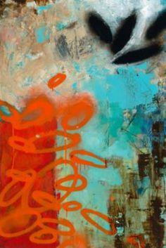 Urban Scape I by Todd Camp via Casey Matthews.  Love his palettes.
