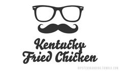 "We sort of love the ""Hipster Branding"" proposed new logo for KFC"