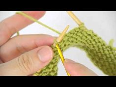 Episode 3: How to Knit a Tidy and Strong Buttonhole - Crochet Cast-On Buttonholes, My Crafts and DIY