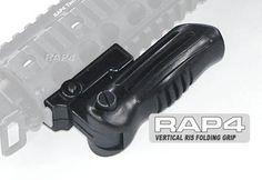 Vertical RIS Folding Grip