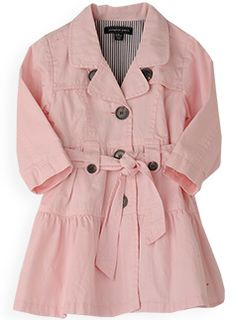 little girl trench coat