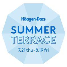ハーゲンダッツ夏期限定のリアルSHOPがオープンオリジナルサマースイーツ提供