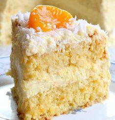 Orange Coconut Cake – All Recettes