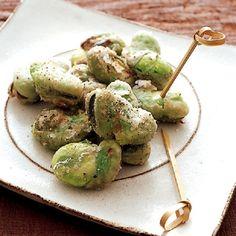 オトナの春のお楽しみ。香ばし「そら豆おつまみ」レシピ - レタスクラブニュース