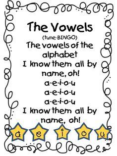 Vowel Poems for Short Vowels – First Grade Wow: Wonderful Word Work - Colorful Dreams Kindergarten Nursery Kindergarten Poems, Preschool Songs, Kids Songs, Kindergarten Classroom, Reading Activities, Reading Skills, Teaching Reading, Movement Activities, Learning