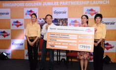Tigerair announces discount fares to mark Singapore's Golden Jubilee year | A2Z Media | Tamil Nadu News | India News | Asia News | World News