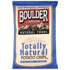 Boulder Canyon Olive Oil Totally Natural Kettle Chips (12x5 OZ)