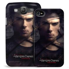 Vampire Diaries&Trade; Damon Smokey Veil Phone Case For Iphone And Galaxy from Warner Bros.: This Vampire Diaries… #Movies #Films #DVD Video