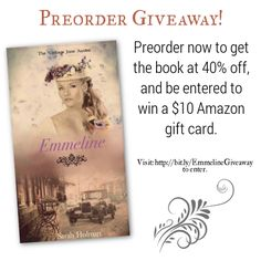 Preorder giveaway--get your order in now! http://www.thedestinyofone.com/2017/02/be-first.html