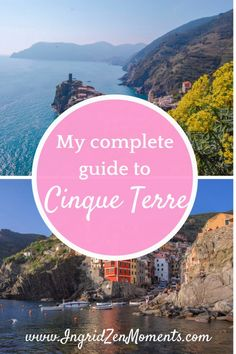My complete guide to Cinque Terre |Milan to Cinque Terre | Best time to visit Cinque Terre | visiting Cinque Terre | best things to do in cinque terre | Best views in Cinque Terre | getting to cinque terre