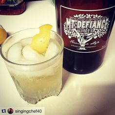 Glad to see you're celebrating Virginia Cider Week with us in mind @singingchef40 !! Enjoy!!  #repost  Kicking off #virginiaciderweek with a #cidercocktail - gin and juice. Made with @mtdefiance farmhouse and @bulldog_gin  #cider #cocktail #playingwithmychemistryset by mtdefiance