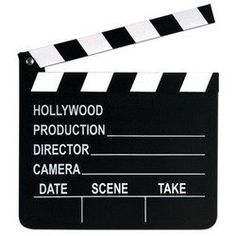 Movie Set Clapboard Party Accessory (1 count) (1/Pkg):Amazon:Kitchen & Dining