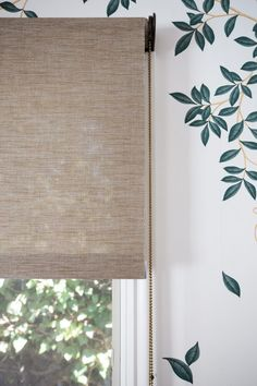 Natural Woven Shades - Marie Flanigan Interiors Natural Woven Roller Shades, via Marie Flanigan Interiors & Whitney Port
