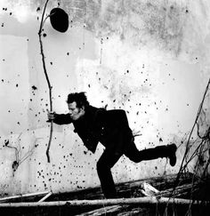 Tom Waits / Singer / Black and White Photography by Anton Corbijn