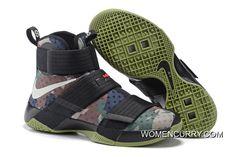 b9a85e4f7777 Nike LeBron Soldier 10 SFG Camo Black Bamboo-Medium Olive Best