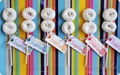 It's great to be 8 - cute idea. Includes the printables.