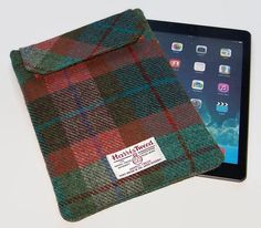 Ipad Air Sleeve HARRIS TWEED Autumn Days by WhimsyWooDesigns