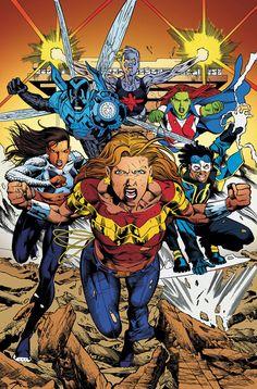 #Teen #Titans #Fan #Art. (Teen Titans #75) By: Joe Bennett & Jack Jadson. (THE * 5 * STÅR * ÅWARD * OF: * AW YEAH, IT'S MAJOR ÅWESOMENESS!!!™)
