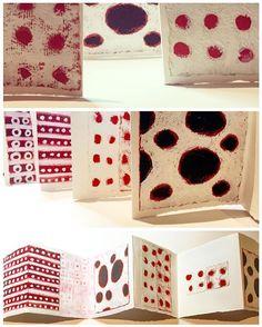 Last night's concertina book in progress.  #seedartlab #cottonragpaper on watercolour paper,