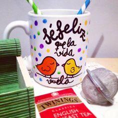 Taza ideal para regalar aun amigo/a en una ocasión especial. SHOP ONLINE: WWW.MOS-TAZA.COM