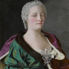 Queen Maria Theresia  The Chocolate Girl. The first cup. Maria Frederike van Reede-Athlone