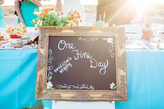 One Fine Day DIY sign