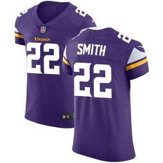 Nike Vikings #22 Harrison Smith Purple Team Color Men's Stitched NFL Vapor  Untouchable Elite Jersey