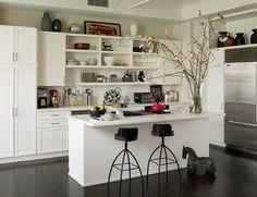 White Colored Kitchen Design Ideas