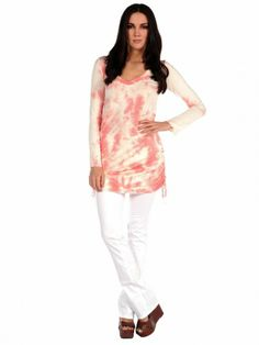 Veronica M Side Tie Tunic on shopstyle.com