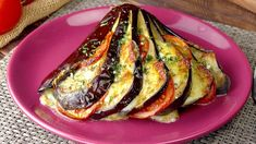 A Must For Ham Lovers! Cut The 2 Eggplant Halves Lengthwise – Delicious! Vegetarian Comfort Food, Vegetarian Recipes, Healthy Recipes, Vegetarian Casserole, Cooking Recipes, Vegetable Dishes, Vegetable Recipes, Aubergine Recipe