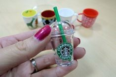 Tiny Cup! #starbucks