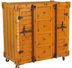 Shipping Container Cabinet