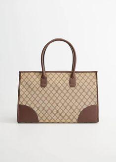 Gift guide for Women 2019 Big Bags, Printed Bags, Louis Vuitton Damier, Gifts For Women, Gift Guide, Shopping Bag, Print Design, Mango, Pocket