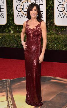 2016 Golden Globes Red Carpet Arrivals Felicity Huffman, Golden Globe Awards