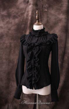 Victorian Fashion, Gothic Fashion, Boho Fashion, Womens Fashion, Victorian Gothic, Steampunk Fashion, Fashion Design, Harajuku Fashion, Lolita Fashion