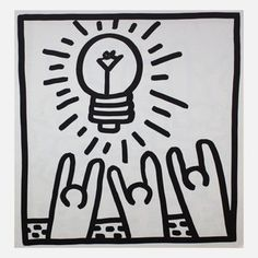 Keith Haring: Lightbulb